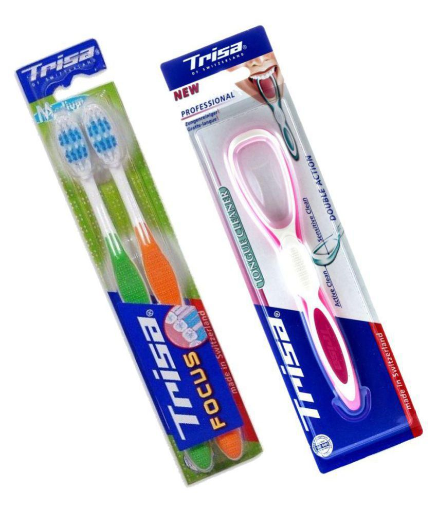Trisa Standard Oral Kit Pack of 2