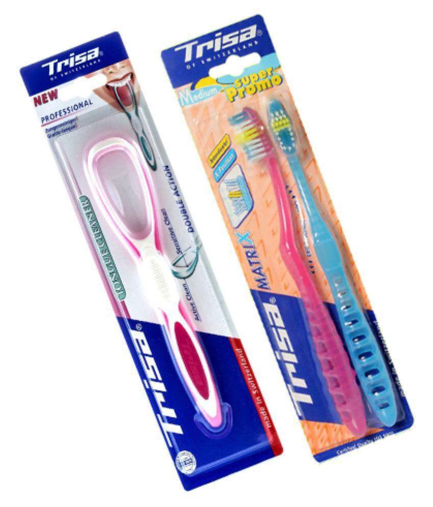 Trisa Standard Oral Kit Pack of 2