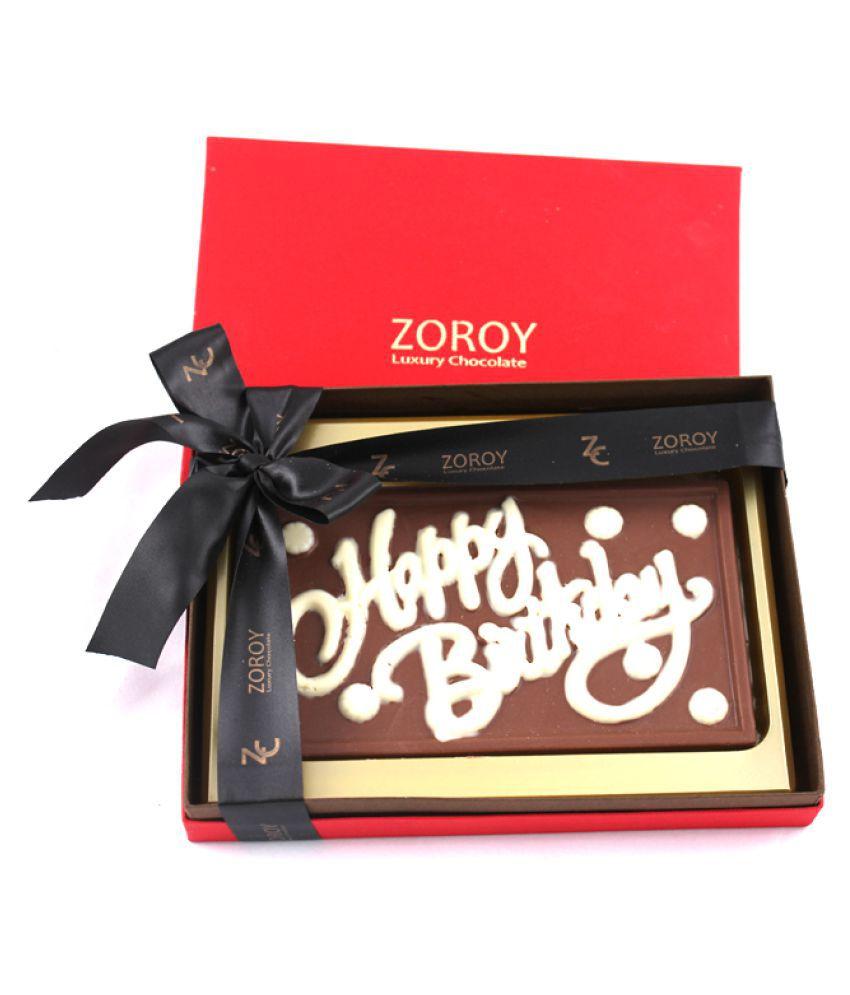 Zoroy Luxury Chocolate Birthday Chocolate Box Birthday chocolate gift 200 gm