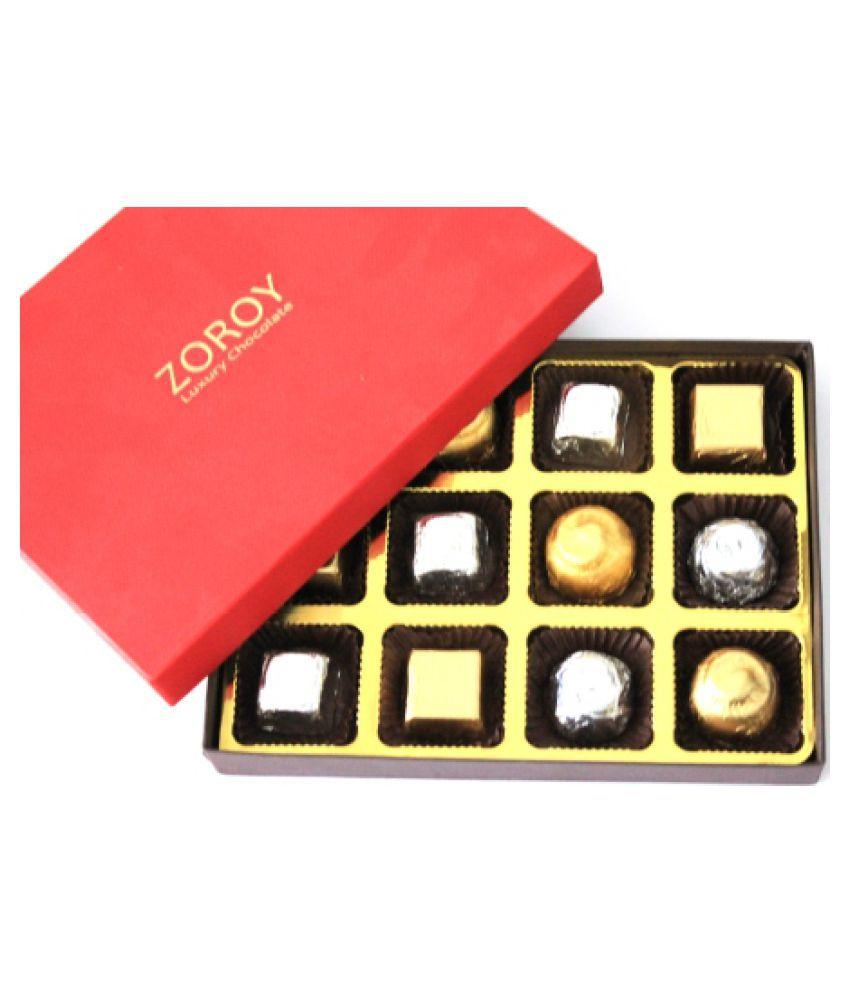 ZOROY LUXURY CHOCOLATE Boxed Designs Chocolate Box 148 gm