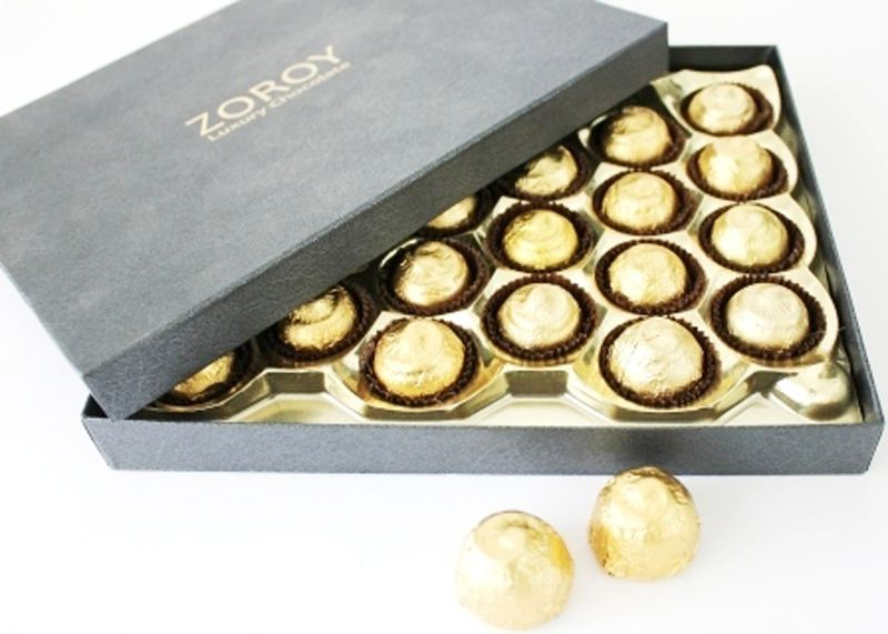 ZOROY LUXURY CHOCOLATE Sugarless Chocolate Box 325 gm