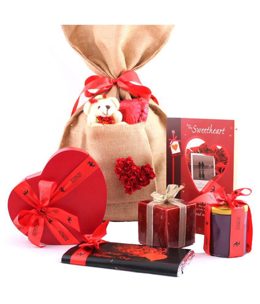 ZOROY LUXURY CHOCOLATE Valentine's Day Chocolate Sampler 370 gm