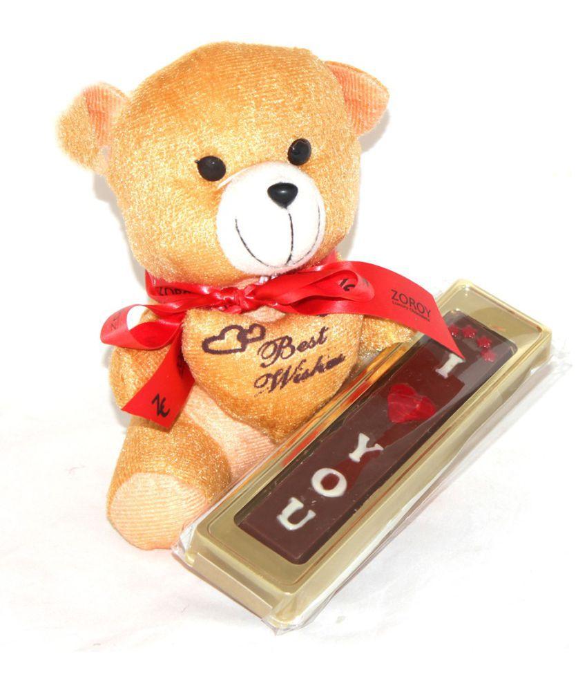 Zoroy Luxury Chocolate Valentine's Day Chocolate Sampler Valentine day chocolate gift 50 gm