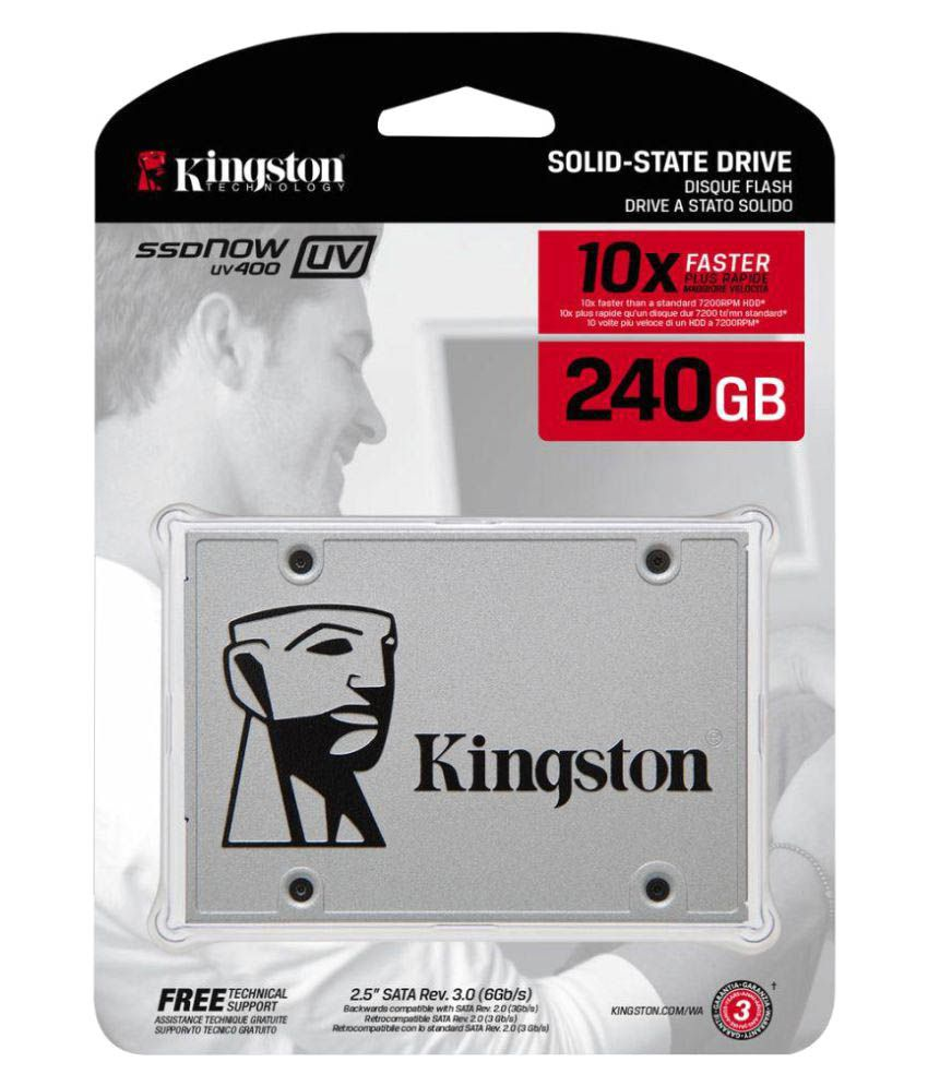 Kingston SUV400S37/240G 240 GB SSD Internal Hard drive