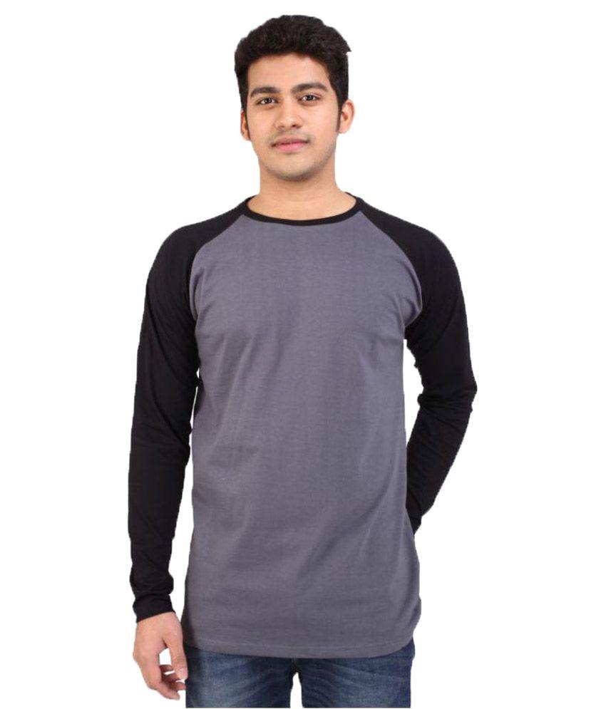CrystalClear Grey Round T-Shirt