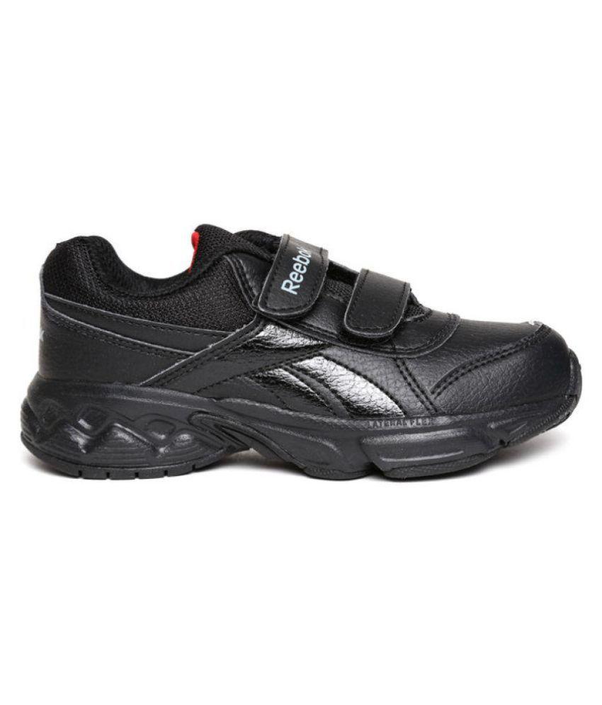 reebok black school shoes Online