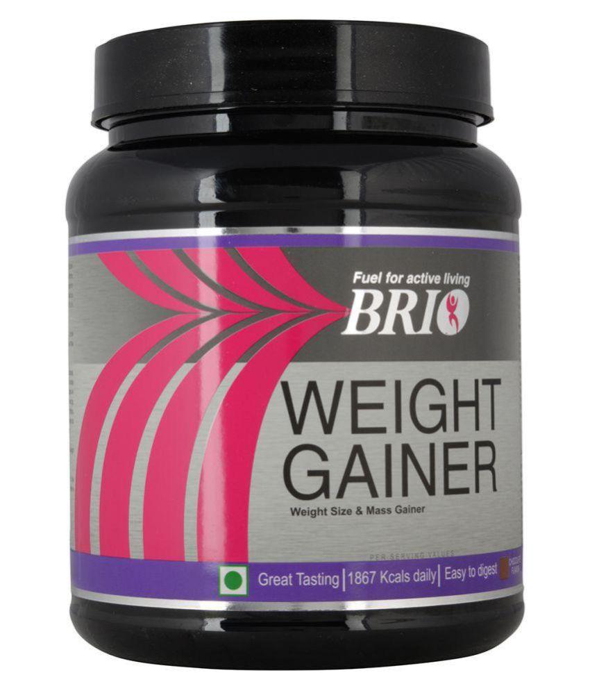 Brio Nutritional Weight Gainer 500 gm Weight Gainer Powder