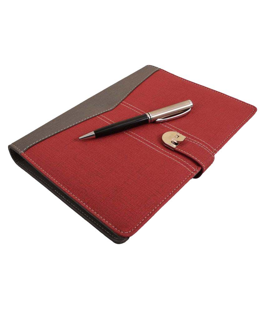 Coi Red Planner with Pen
