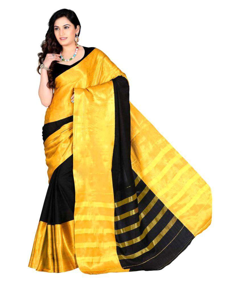 Kanak Sarees Multicoloured Cotton Saree