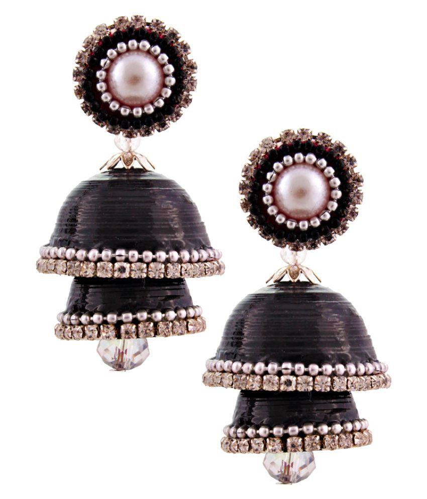 Carat Sutra Black Earrings