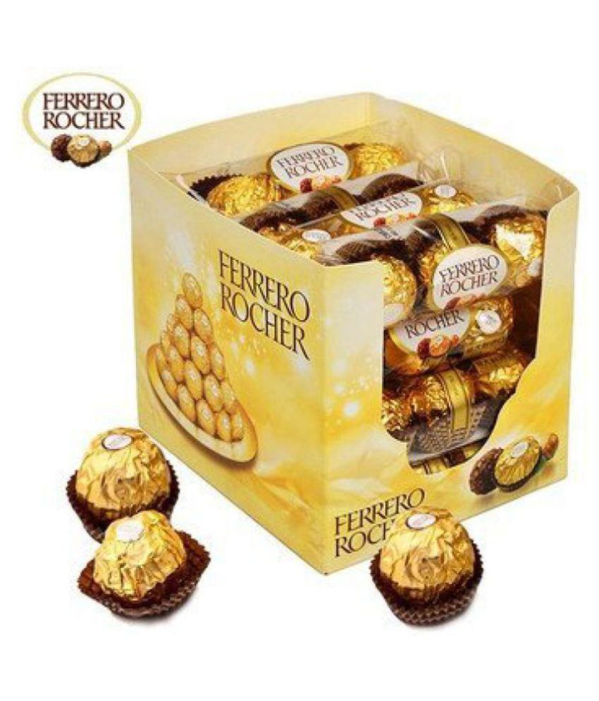 Ferrero Rocher Exotic Gift Milk Chocolate Pack Of 16x3 Packs 600 gm