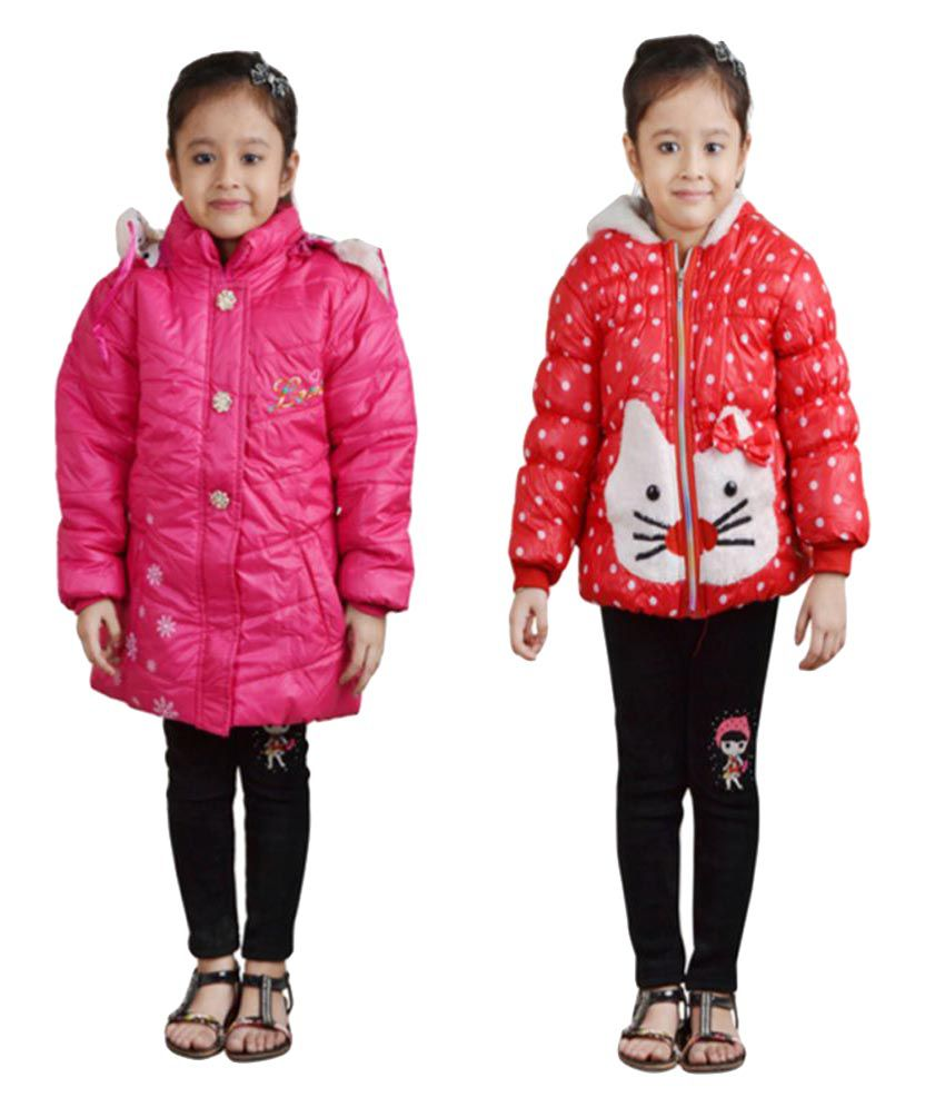 Crazeis Multicolour  Nylon Jacket - Pack of 2