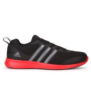 Adidas Yking M Black Running Shoes