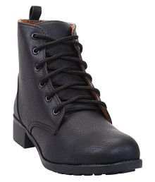 Catbird Black Ankle Length Bootie Boots