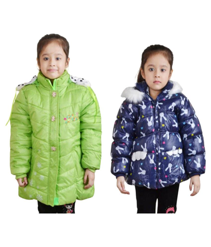 Qeboo Multicolor Bomber jacket - Pack of 2