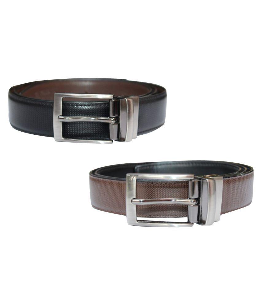 Fomti Multi Faux Leather Formal Belts