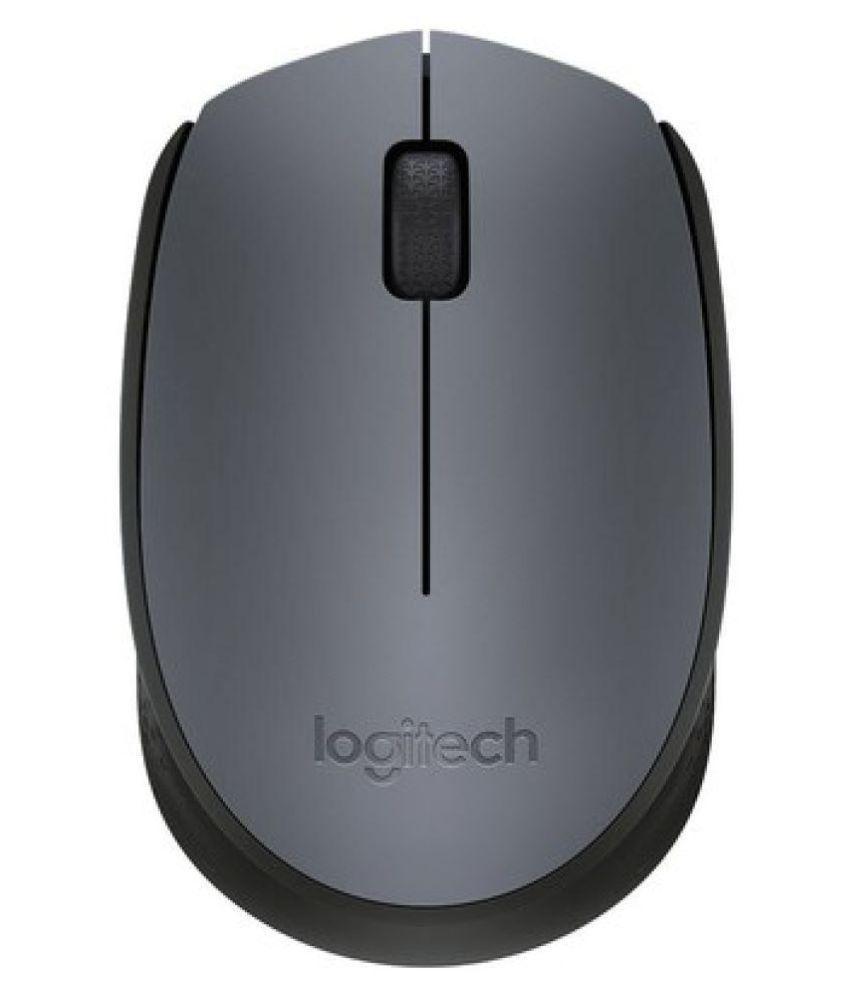 Logitech M 171 Grey Wireless Mouse