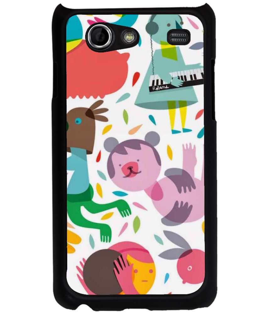 Samsung Galaxy S Advance Printed Cover By Fuson