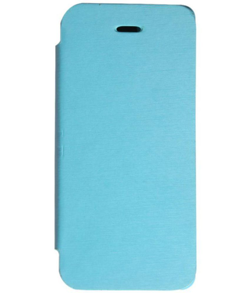 the latest d001a d2cbe Apple iPhone 5S Flip Cover by Callmate - Blue