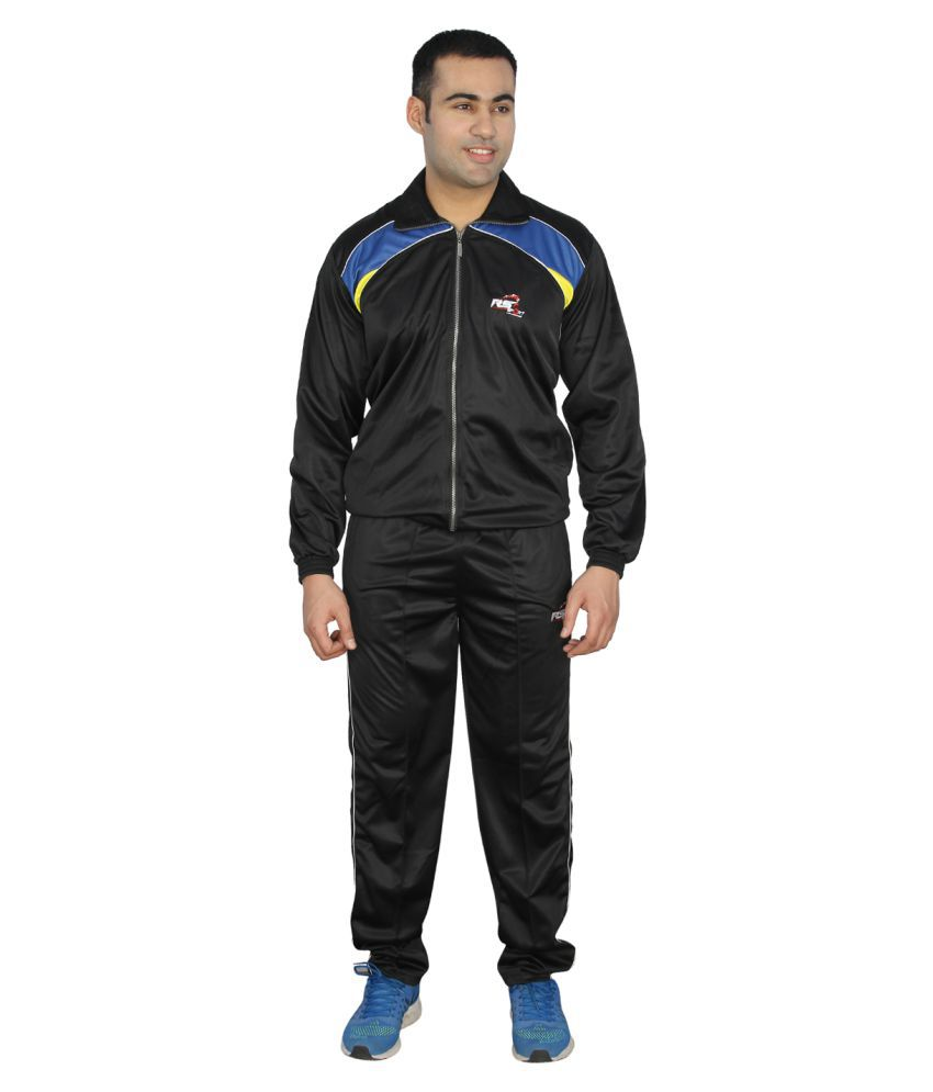 RS Sports Black Active Wear
