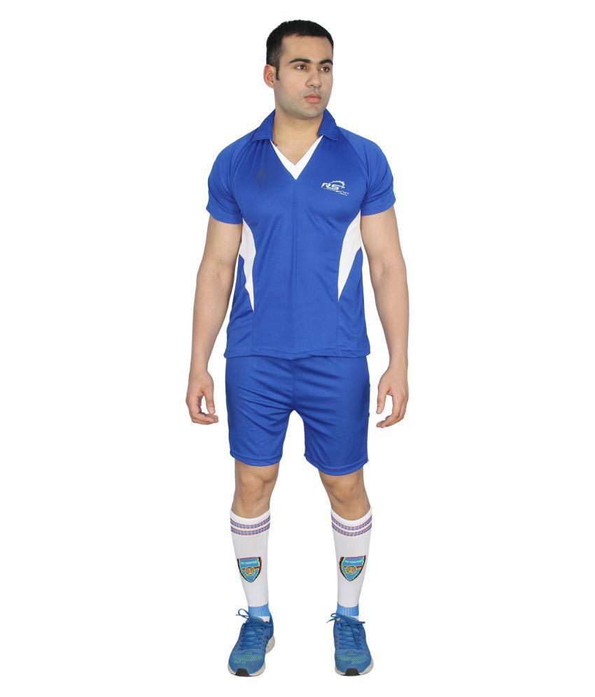 RS Sports Blue Active Wear