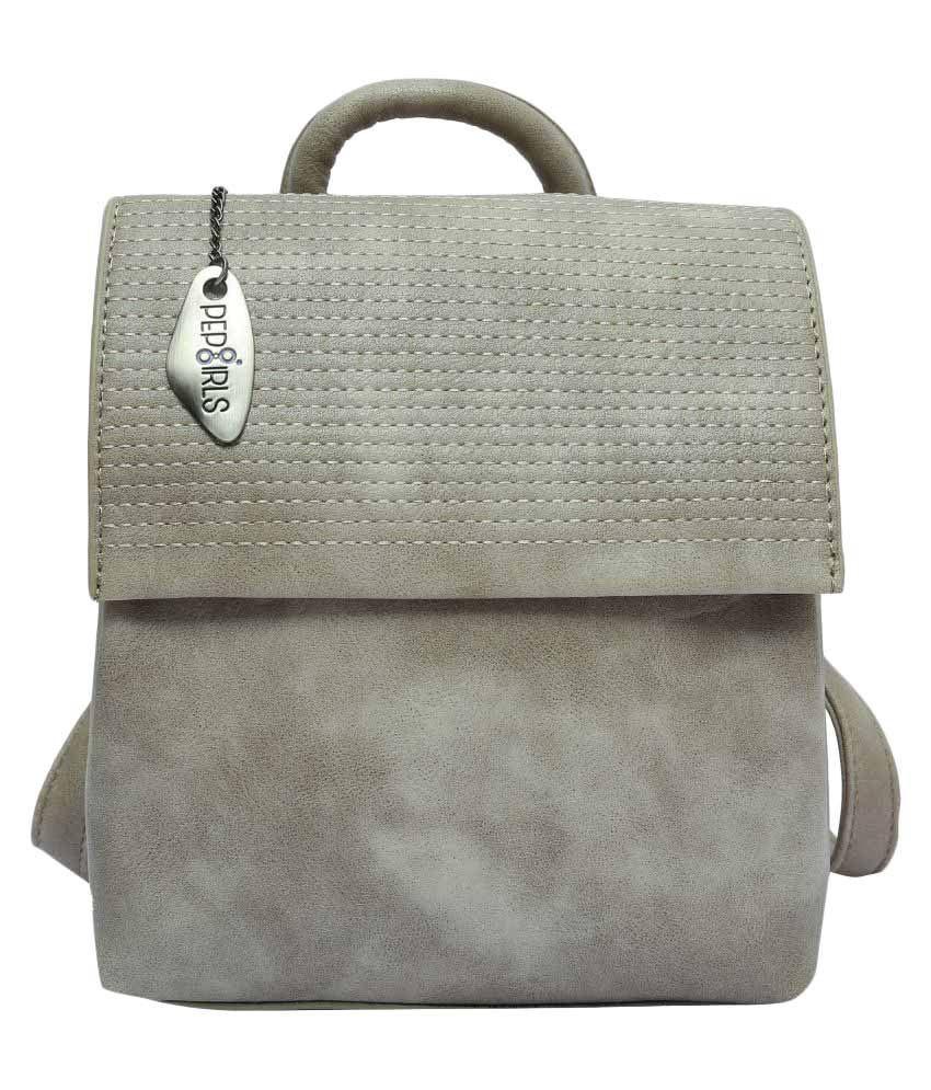 Pep Girls Beige Backpack