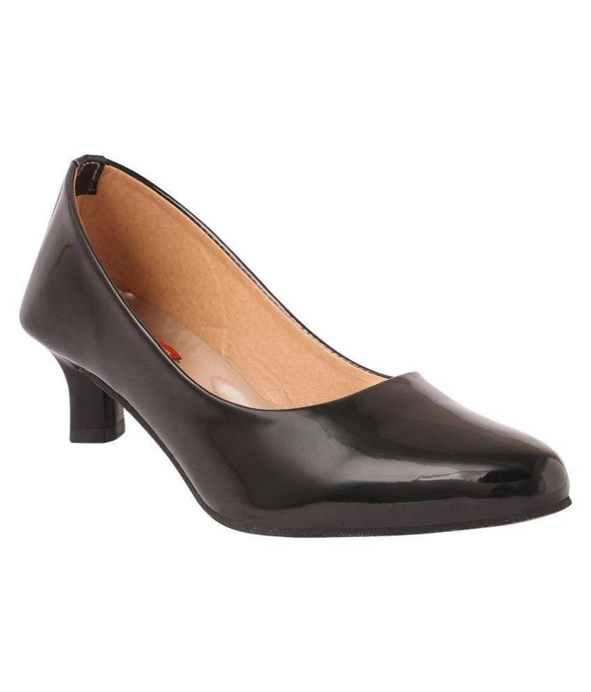 Style Craft Black Block Heels