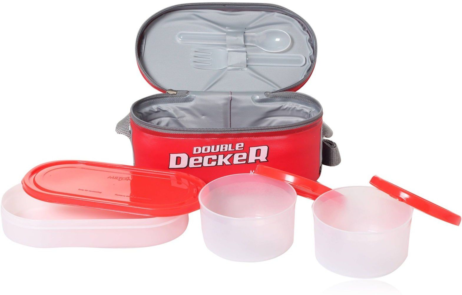 Milton Double Decker Lunch Box 3 Pcs