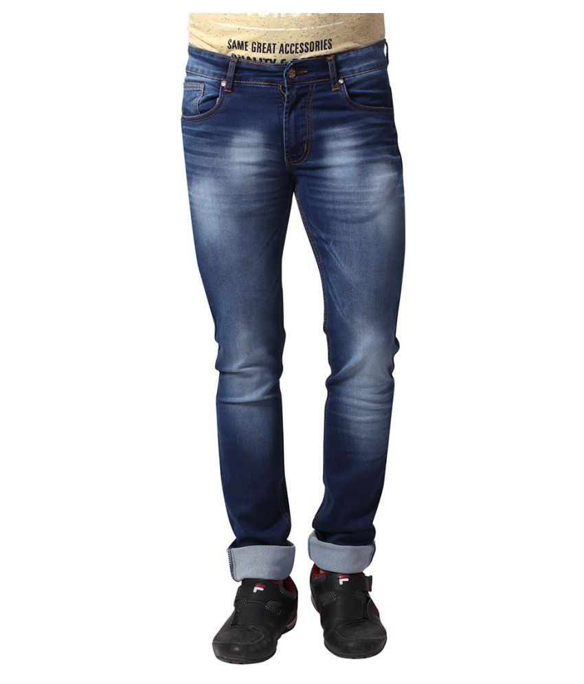 Yoo Blue Regular Fit Jeans
