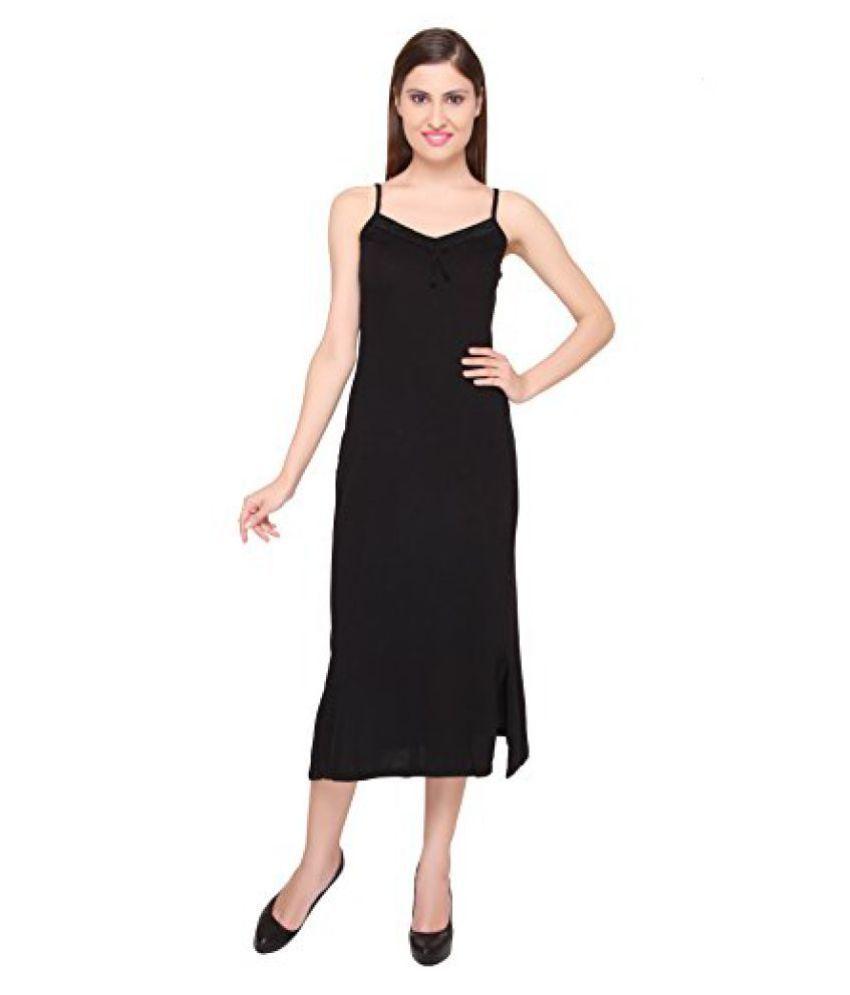 Valentine Secret Skin Womens Comfortable Black Camisole