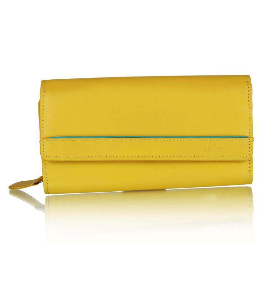Leezel Yellow Wallet