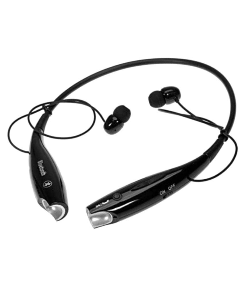 RD Max HBS 730 Bluetooth Headset Black Available At SnapDeal For Rs.459