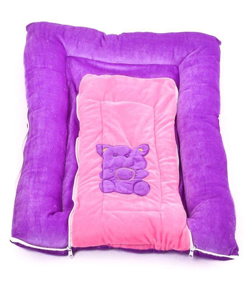 Big Bucket Purple Polyester Sleeping Bags ( 70 cm × 50 cm)