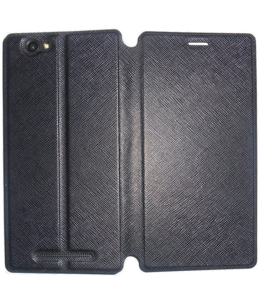 finest selection 286f4 b5db4 Lava A97 Flip Cover by Mercator - Black