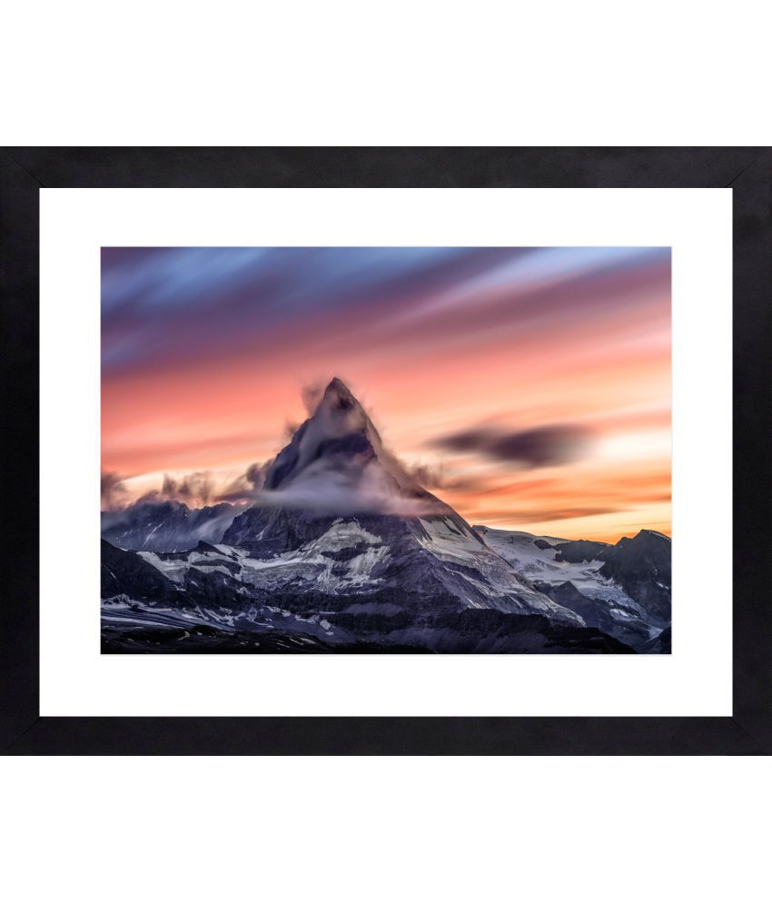Craftsfest Beautifull Landscape Canvas Painting With Frame Single Piece