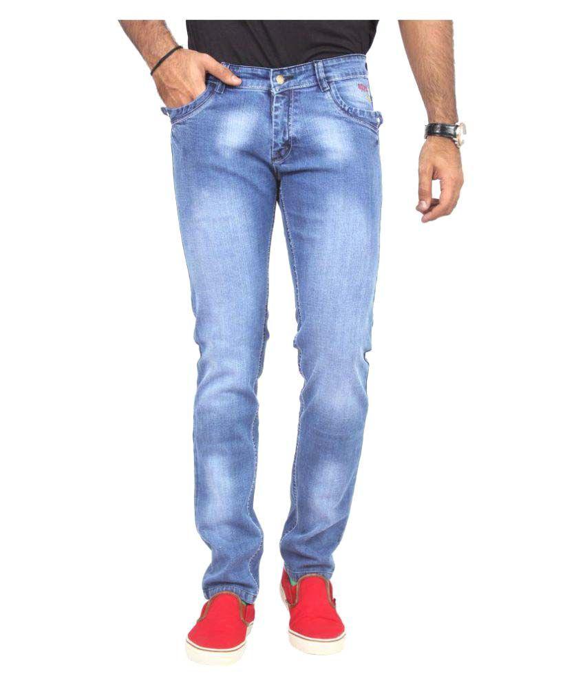 Oxberg Indigo Blue Slim Jeans