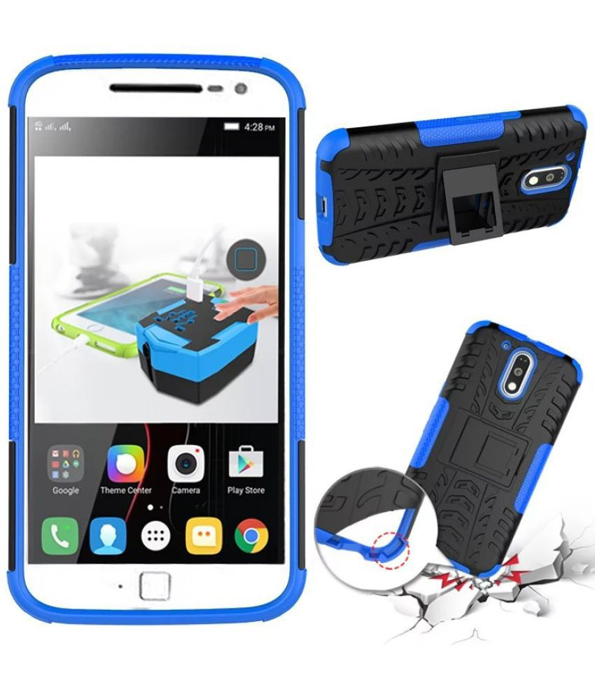 reputable site ccb5a 1c0a9 Moto G4 Plus Cover by Parallel Universe - Blue