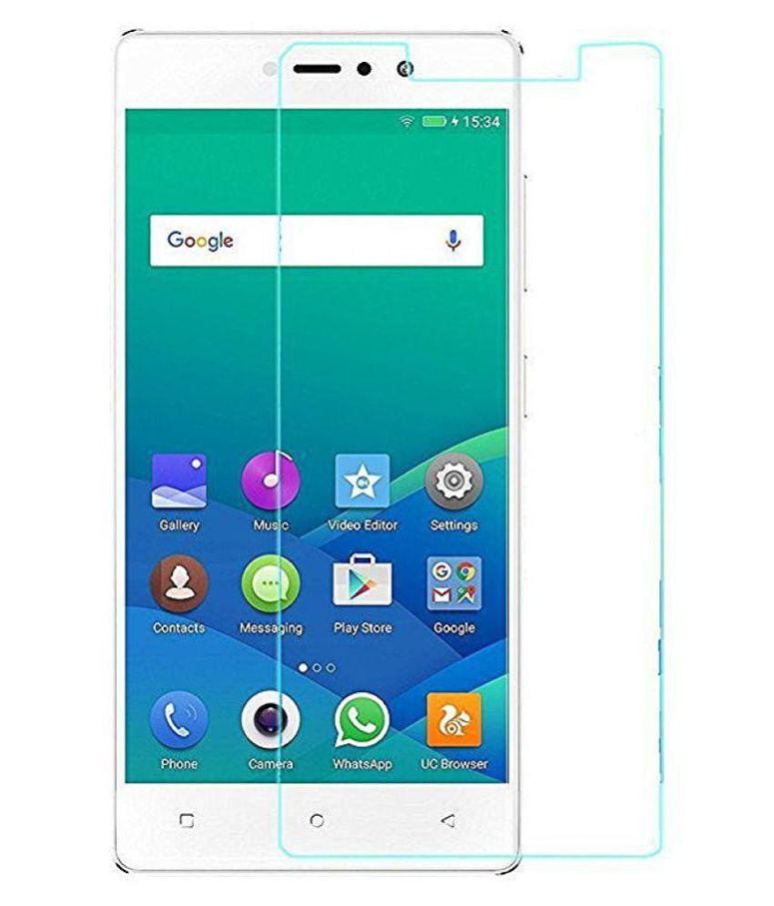 Gionee F103 Tempered Glass Screen Guard By DDF