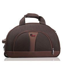 F Gear Cooter Travel Duffle bag 20 inch Brown