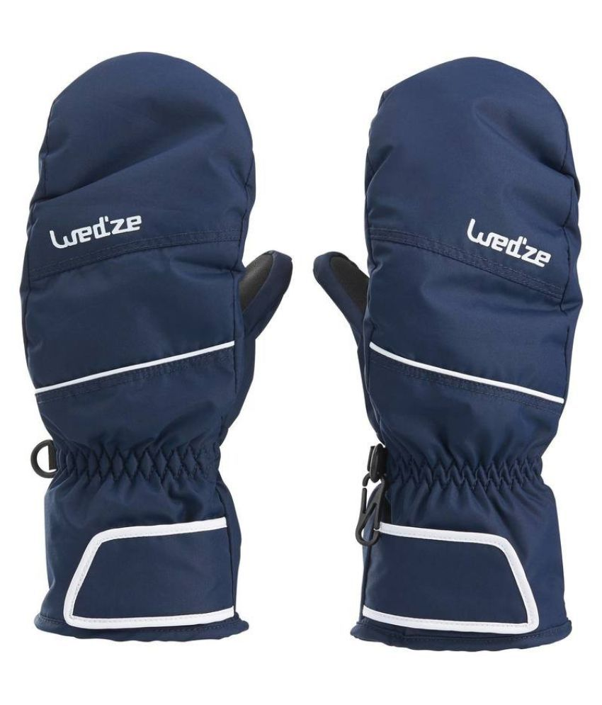 WEDZE Kids Waterproof Warm Mittens