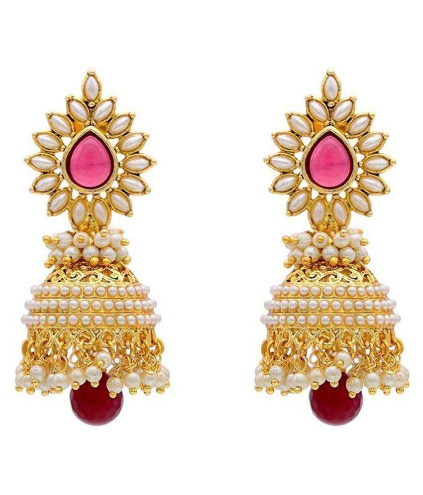 Jewels Gehna Multicolor Jhumki