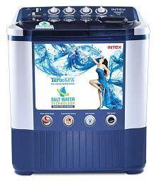 bcf2e1de252 Quick View. Intex 7.2 Kg WMSA72DB Semi Automatic Semi Automatic Top Load Washing  Machine
