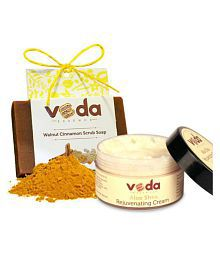 Veda Essence Natural  Ideal Skin Cream&soap Cream 100 Gm 1 X 125 Gm Soap Gm Pack Of 2