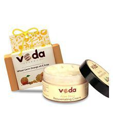 Veda Essence Veda Natural Skin Cream&soap Cream 100 Gm  1 X 125 Gm Soap Gm Pack Of 2