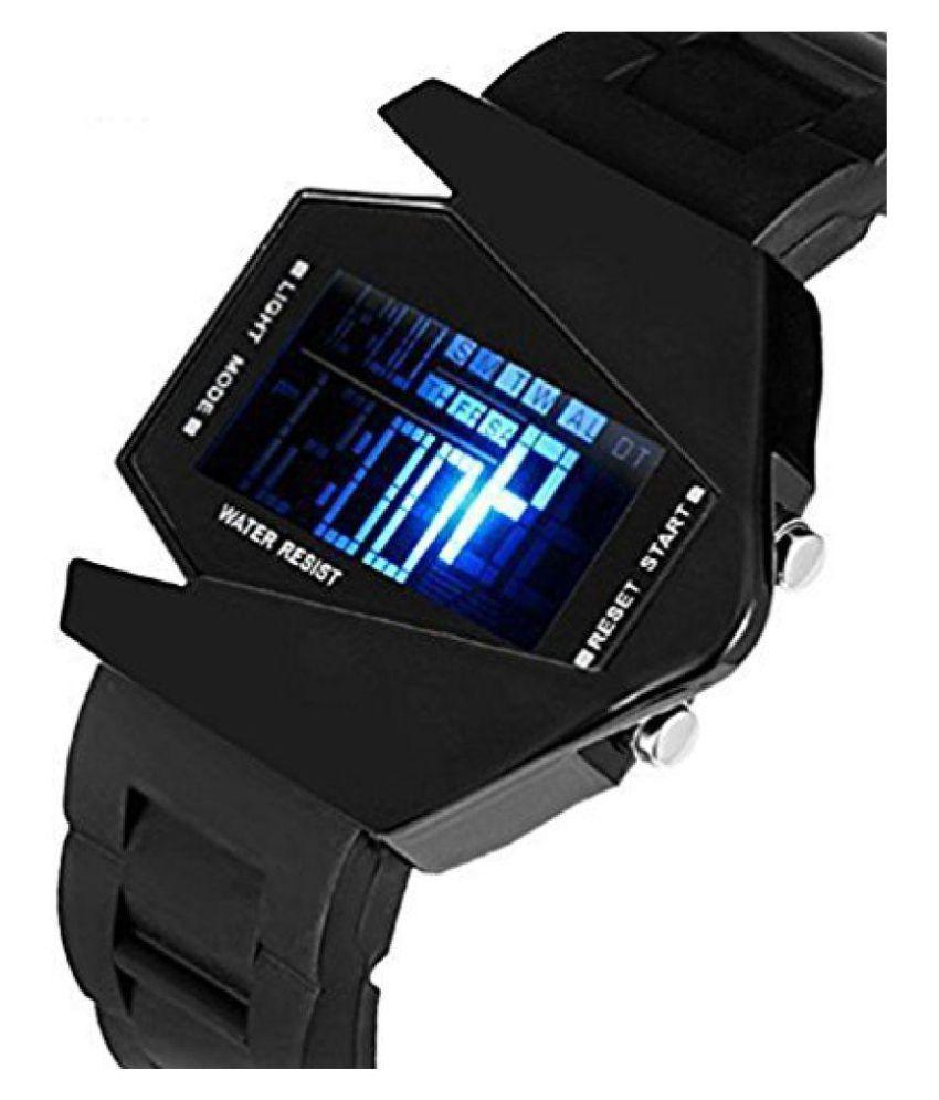 c0a43802746 Black Digital Watch For Men Aivor Watch Co. Black Digital Watch For Men ...