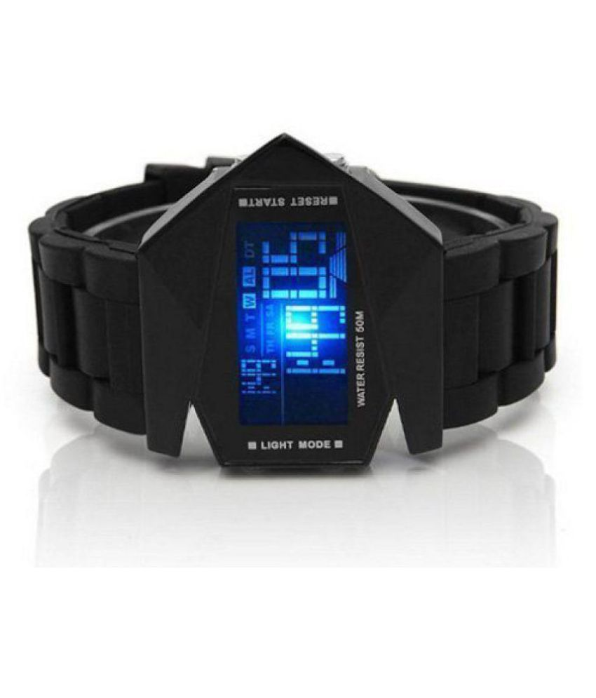 20fe3157596 Black Digital Watch For Men Aivor Watch Co. Black Digital Watch For Men