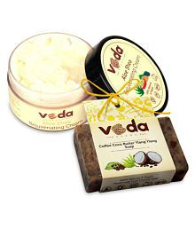 Veda Essence Handcrafted Soap &Skin Cream Cream 100 Gm  1 X 125 Gm Soap Gm Pack Of 2