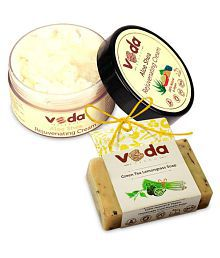 Veda Essence Herbal Anti Wrinkle &Soap Cream 100 Gm 1 X 125 Gm Soap Gm Pack Of 2