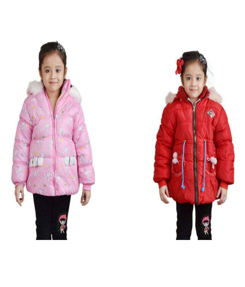 Qeboo Nylon Jackets - Combo of 2