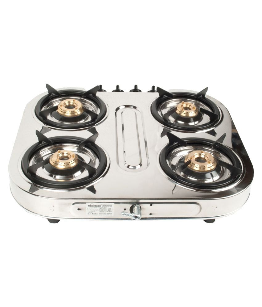 sunflame 4 burner manual gas stove price in india buy sunflame 4 burner manual gas stove. Black Bedroom Furniture Sets. Home Design Ideas